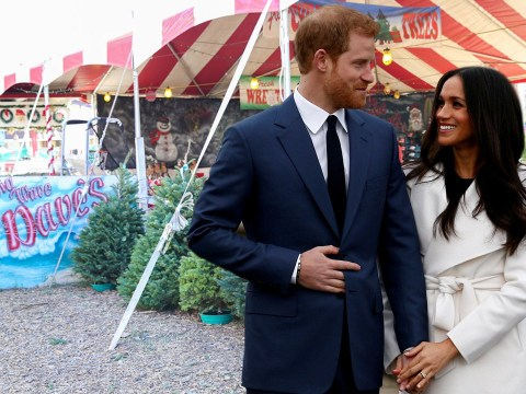 Prince Harry mistaken for Christmas tree salesman while shopping with Meghan