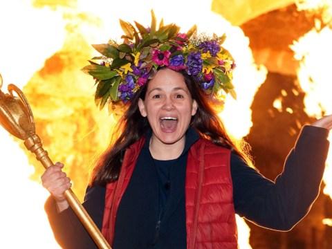 I'm A Celebrity 2020: Giovanna Fletcher's husband Tom turns her crown into Christmas wreath