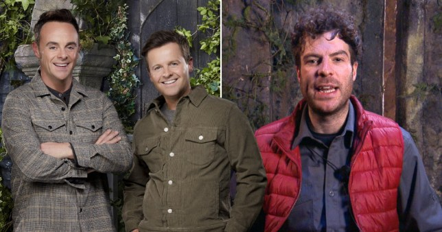 Comp of Ant and Dec and Jordan North on I'm A Celebrity