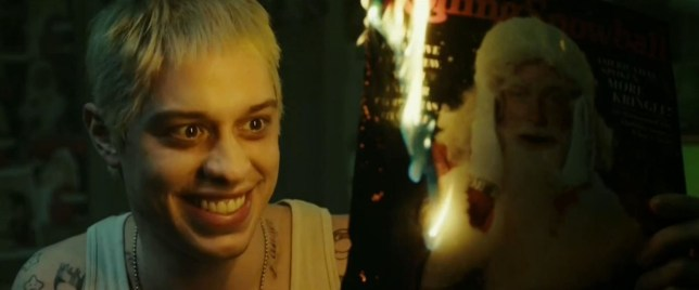 Pete Davidson on SNL in Eminem parody