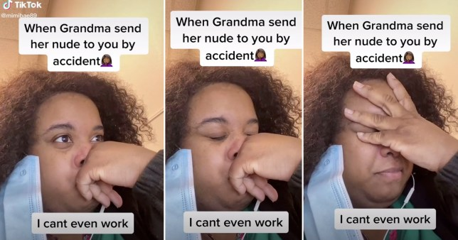 Grandma urges granddaughter to delete nudes she accidentally sent