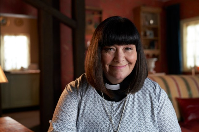 Dawn French as vicar of dibley