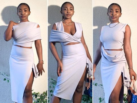Woman makes multifaceted dresses that can be worn up to 11 different ways