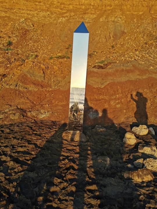 Isle of Wight residents baffled as newest alien monolith seems