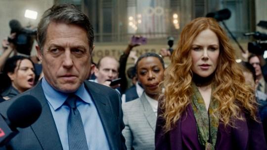 Nicoel Kidman and Hugh Grant in The Undoing