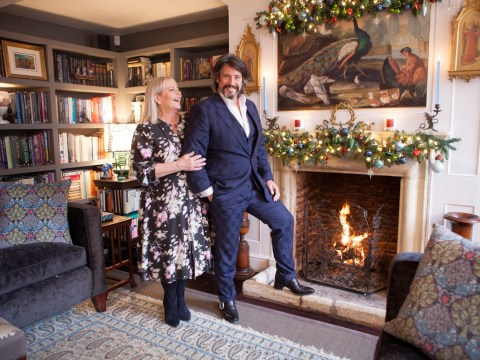 Laurence Llewelyn-Bowen on decorating for Christmas and Changing Rooms' return in the new year