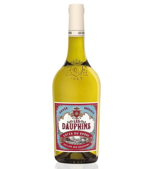 Cellier les Dauphins Côtes du Rhône Blanc
