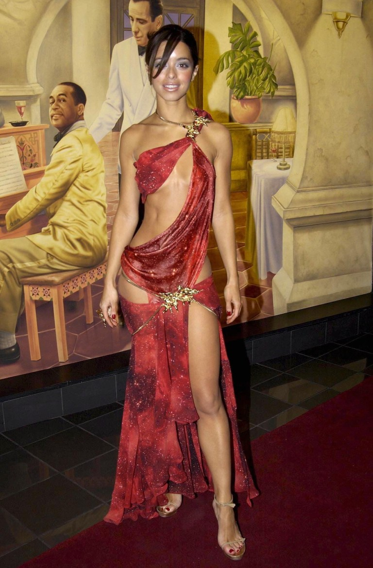 Mandatory Credit: Photo by Richard Young/REX (412102af) S CLUB - TINA BARRETT 'SEEING DOUBLE' FILM PREMIERE, LONDON, BRITAIN - 07 APR 2003