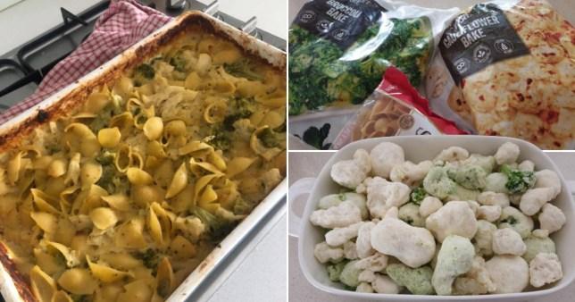 30-second pasta dinner