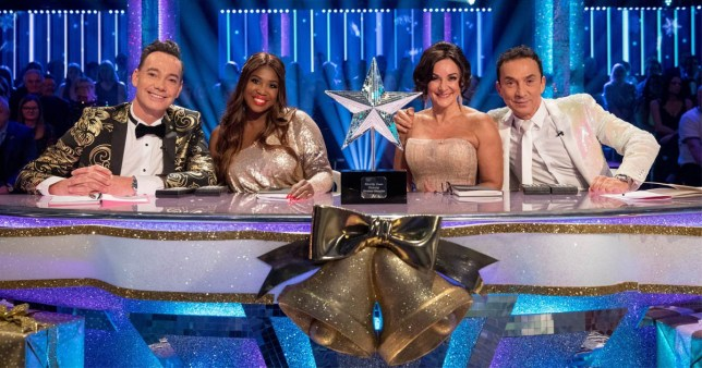 Craig Revel Horwood, Motsi Mabuse, Shirley Ballas and Bruno Tonioli on Strictly Come Dancing