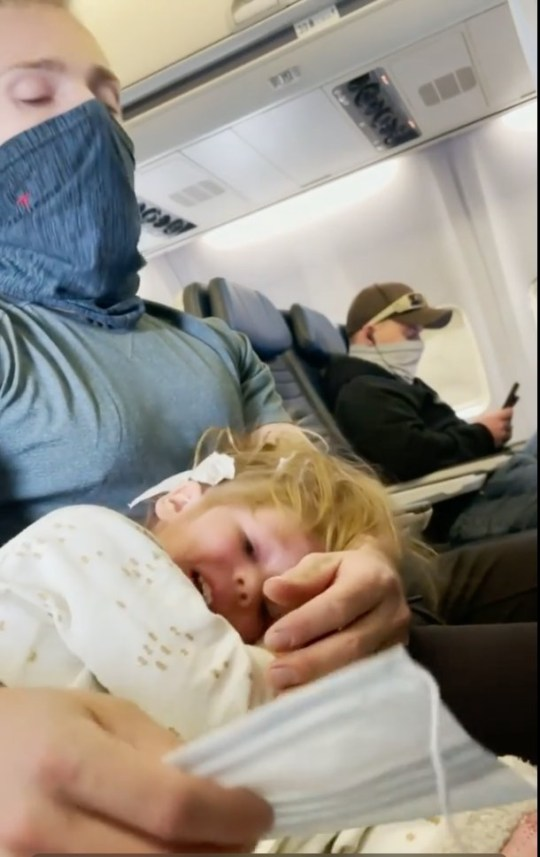 Eliz Orban and her family were kicked off a United Airlines flight because their two-year-old daughter would not wear a mask.