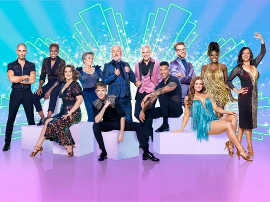 Strictly Come Dancing cast of 2020