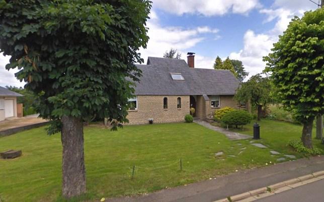La maison de vacances où s'est déroulée l'orgie massive.  (Google / Newsflash)