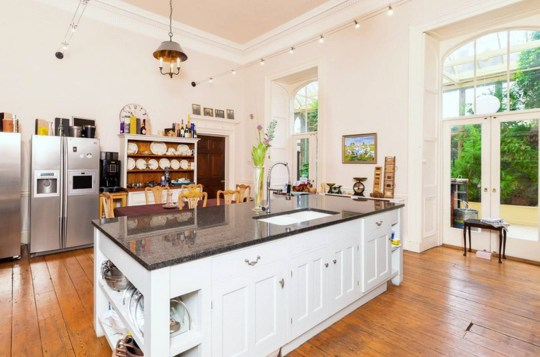 kitchen in county durham castle up for sale
