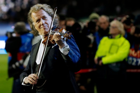 Andre Rieu performing in the Netherlands