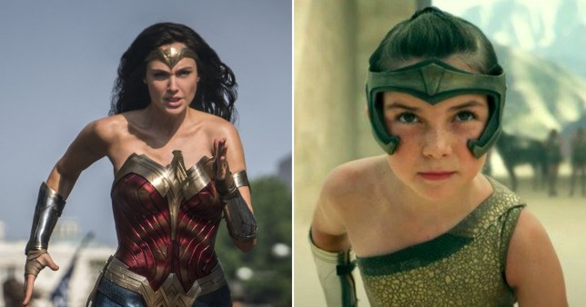 Gal Gadot says she got emotional watching the opening sequence of Wonder Woman 1984 PA/Warner Bros