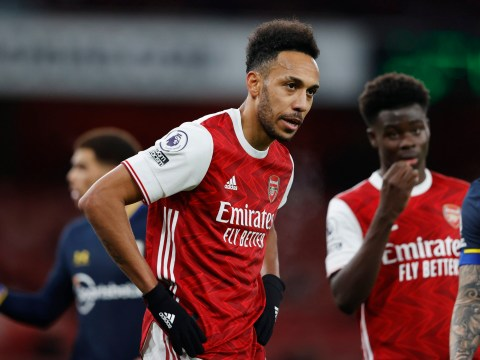 Pierre-Emerick Aubameyang warns Arsenal teammates after Gabriel red card
