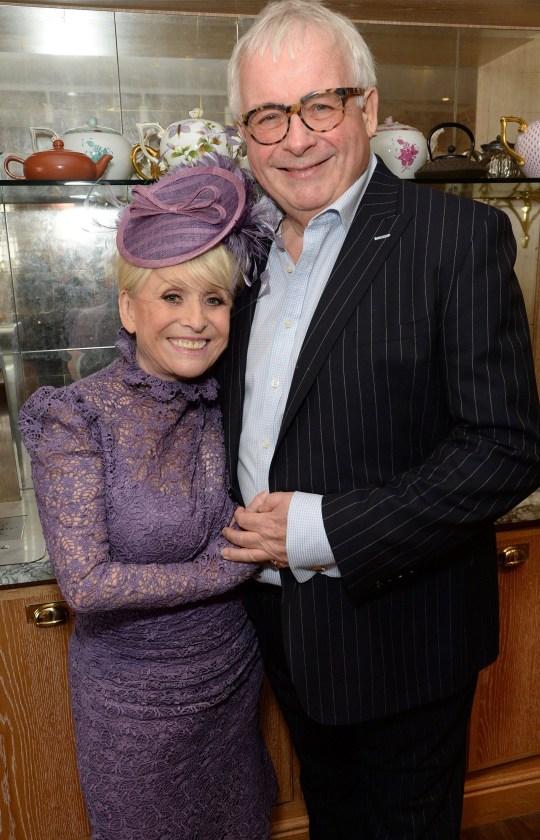 Dame Barbara Windsor and Christopher Biggins Dame at her damehood celebration lunch