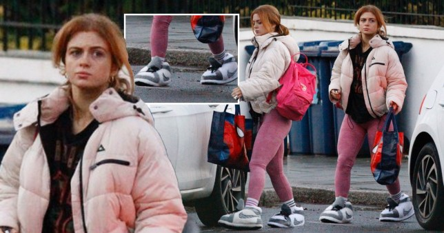 Maisie Smith at Strictly rehearsals