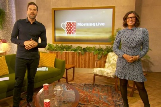 Morning Live - Kym Marsh and Gethin Jones