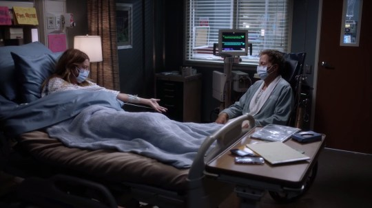 Grey's Anatomy Meredith and Tom recover from Covid-19