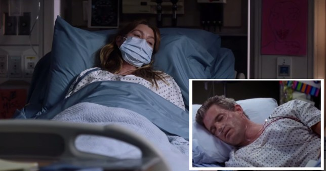 Grey's Anatomy fans notice alarming similarity to Mark Sloan's death and Meredith