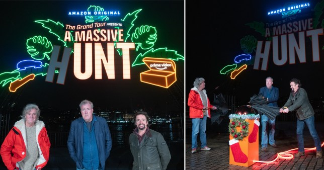 The Grand Tour hosts suffer festive mishap turning on Xmas lights