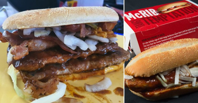 Picture: Facebook, Getty Man shares McRib hack for 'best McDonald's burger ever'