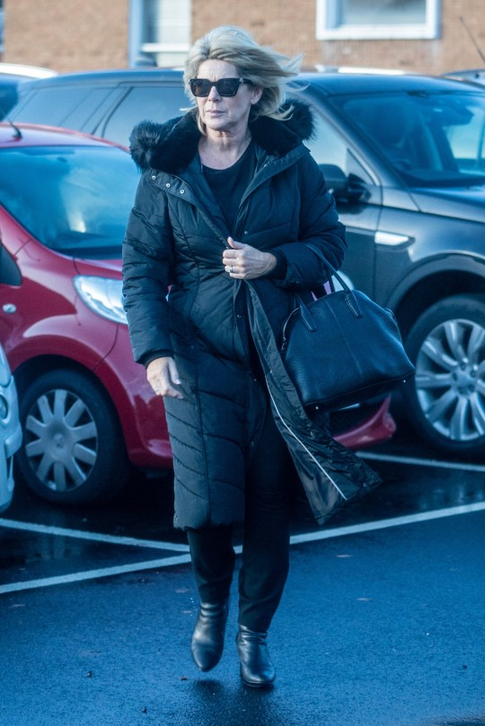 ** ALL ROUND EXCLUSIVE PICTURES** 20th December 2020: Ruth Langsford pictured after being dropped from her and husband Eamon???s This Morning slot is seen doing some last minute errands before Christmas Lockdown , NHPIX/LVTMEDIA Online Set fee ??250 paper fee per pic ??250