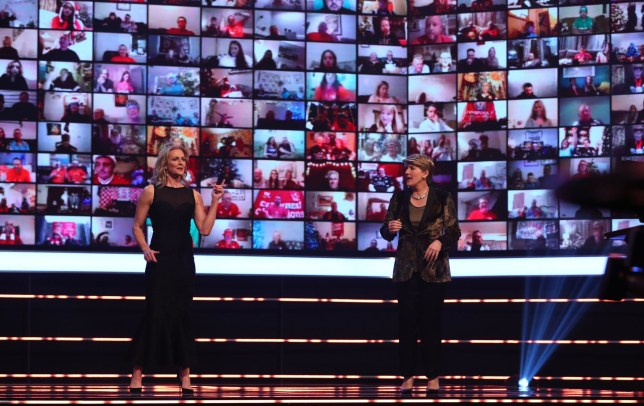 Presenter's Gabby Logan (left) and Clare Balding during the BBC Sports Personality of the Year 2020 at MediaCityUK, Salford. PA Photo. Picture date: Sunday December 20, 2019. See PA story SPORT Personality. Photo credit should read: Peter Bryne/PA Wire.