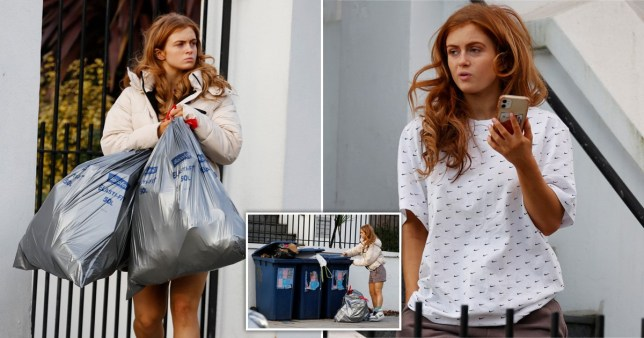 Maisie Smith Is Seen Clearing Out Her London Apartment As She Prepares To Move Back To Essex