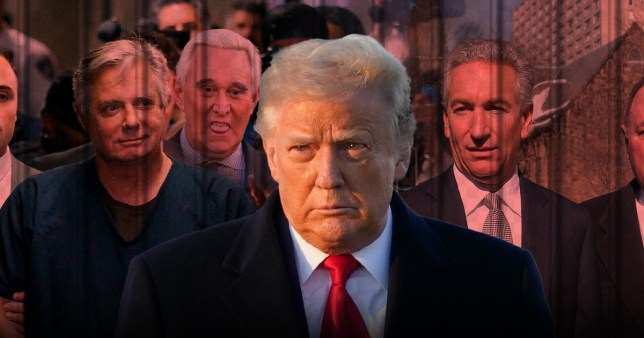 Picture: AP, EPA President Donald Trump pardoned more than two dozen people, including former campaign chairman Paul Manafort and Charles Kushner, the father of his son-in-law