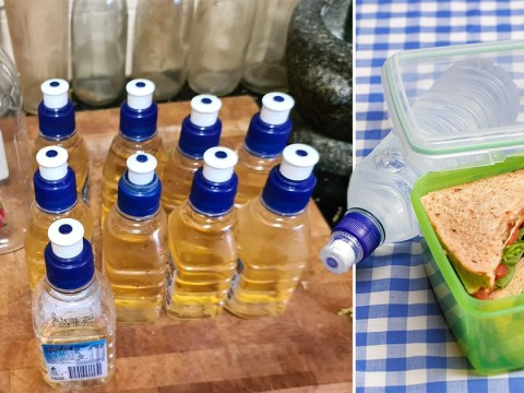 Mum reveals how she saves money on packed lunches with simple juice hack