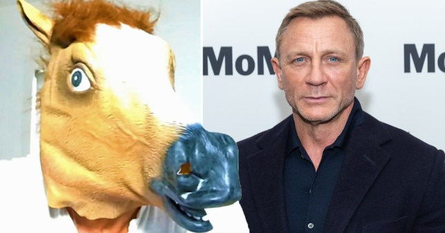Daniel Craig makes surprise panto cameo - EMBARGOED 21.40