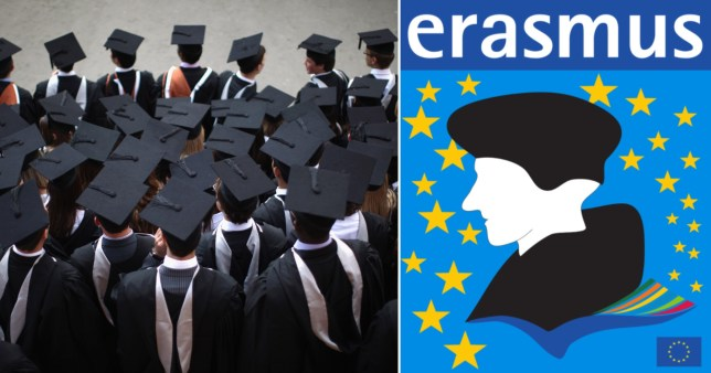 British students will no longer be able to participate in the Erasmus exchange programme.