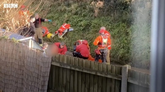 'Christmas miracle' as couple rescued from submerged car after two hours underwater