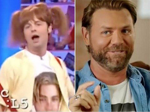 Brian McFadden admits he wet himself 'a bit' during SM:TV Live segment with Declan Donnelly