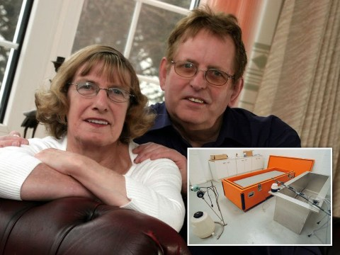 Pensioner's hope of reuniting with wife after deep-freeze preservation