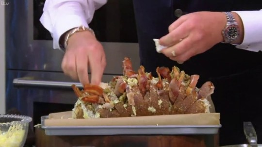 James Martin has 'meltdown' on Saturday Morning with leftovers Christmas sandwich