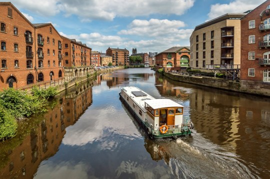 barge in leeds