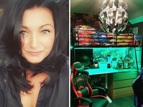 Mum saves £400 on DIY gaming room for tween sons