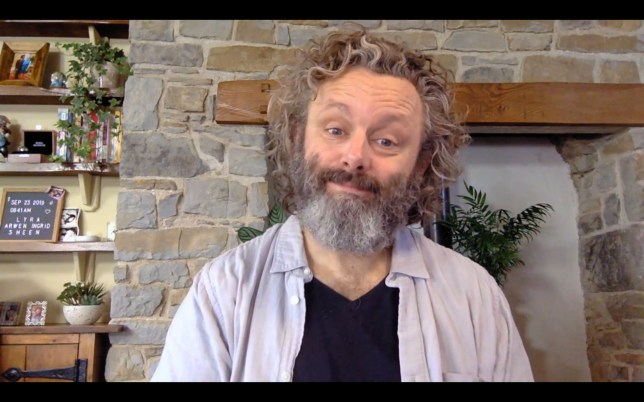 Michael Sheen in Staged
