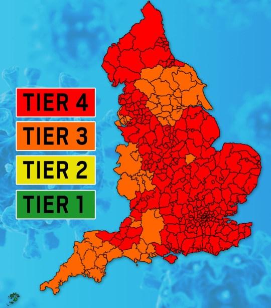Tier map 30-12-20