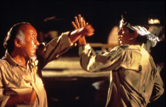 The Karate Kid, Pat Morita, Ralph Macchio