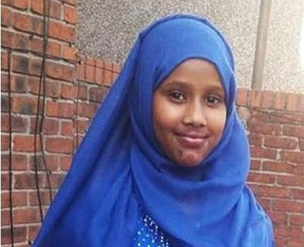The mother of 13-year-old girl who drowned in the River Irwell in Bury has paid tribute to her 'amazing' daughter. Caption: Shukri Yahya Abdi