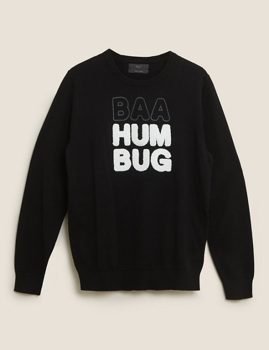Baa Humbug jumper from M&S