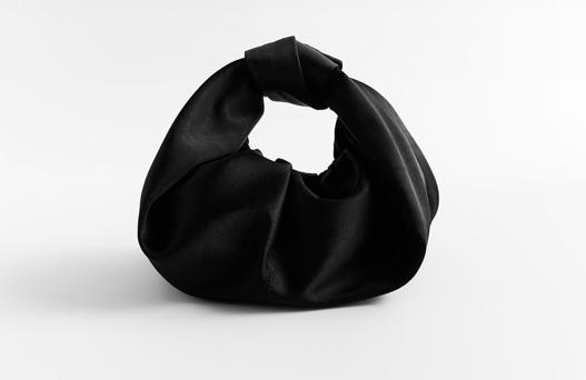 Satin bag from Zara