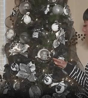 BLM Christmas tree