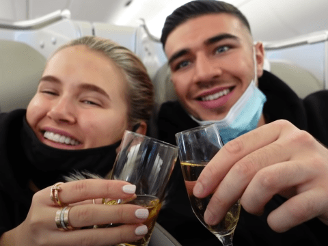 Molly-Mae Hague and Tommy Fury slated for not wearing masks properly on swanky Dubai holiday