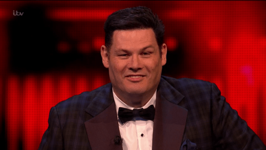 Mark Labbett as The Beast on The Chase